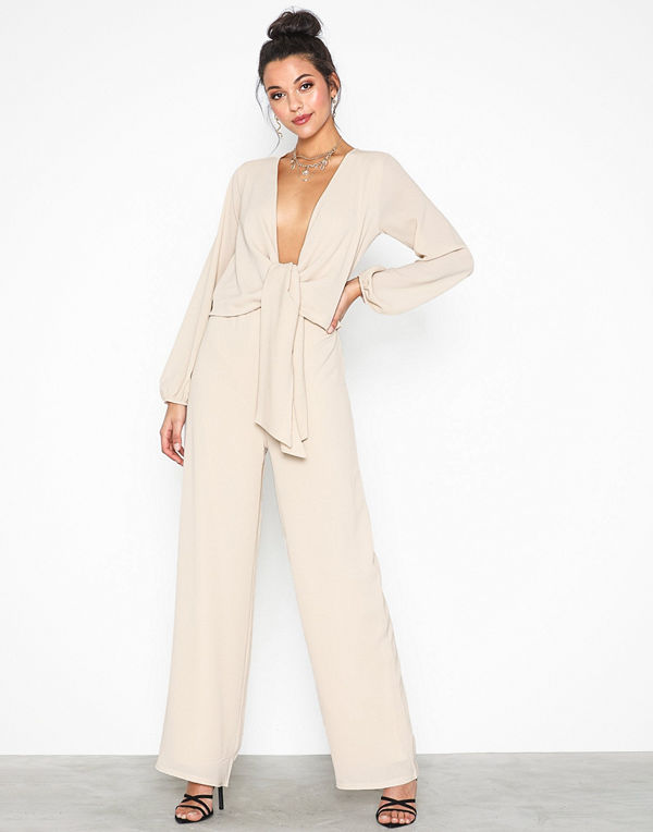 NLY Trend Low Knot Jumpsuit