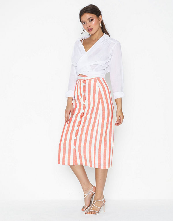 Glamorous Long Striped Skirt