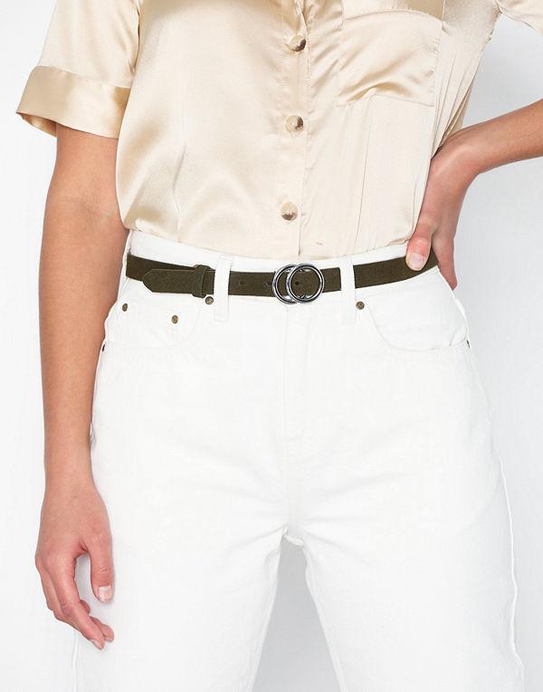 Pieces Pckarren Suede Jeans Belt