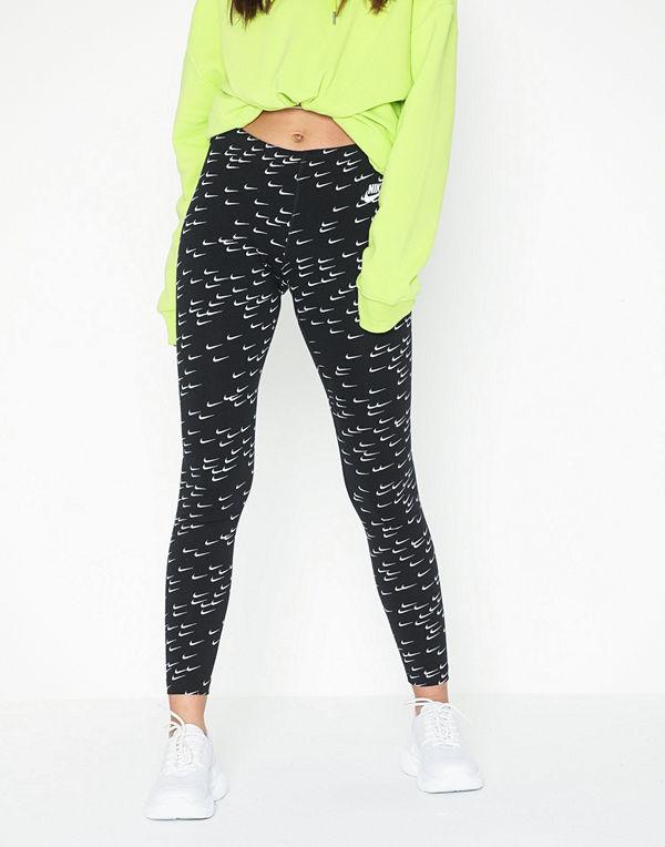 Nike NSW Legasee Legging AOP SWSH Black/White
