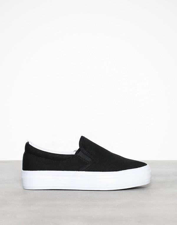 Duffy Basic Slip-On Sneaker Svart