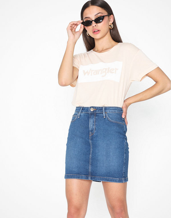 Lee Jeans Mid Skirt Simple Focus