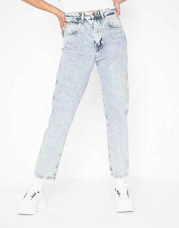 Wrangler Mom Jeans Wrainbow Wash