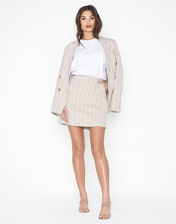 NLY Trend Soft Striped Skirt