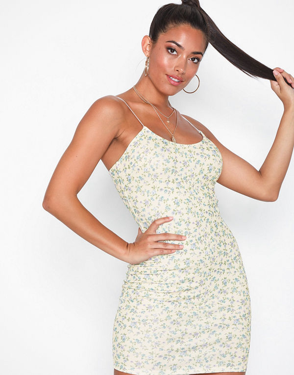 NLY One Thin Strap Print Dress