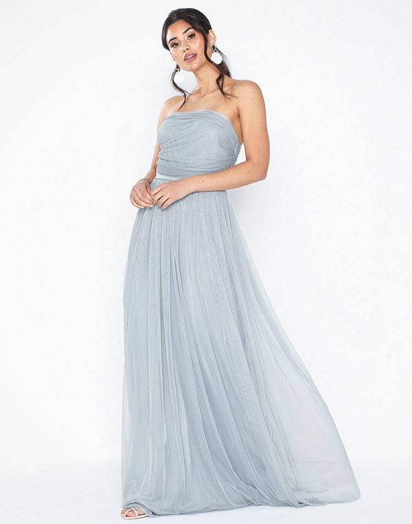Anaya Tulle Bandeau Maxi Dress