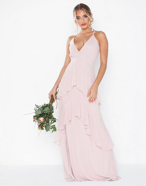 NLY Eve Flounce Bottom Frill Gown