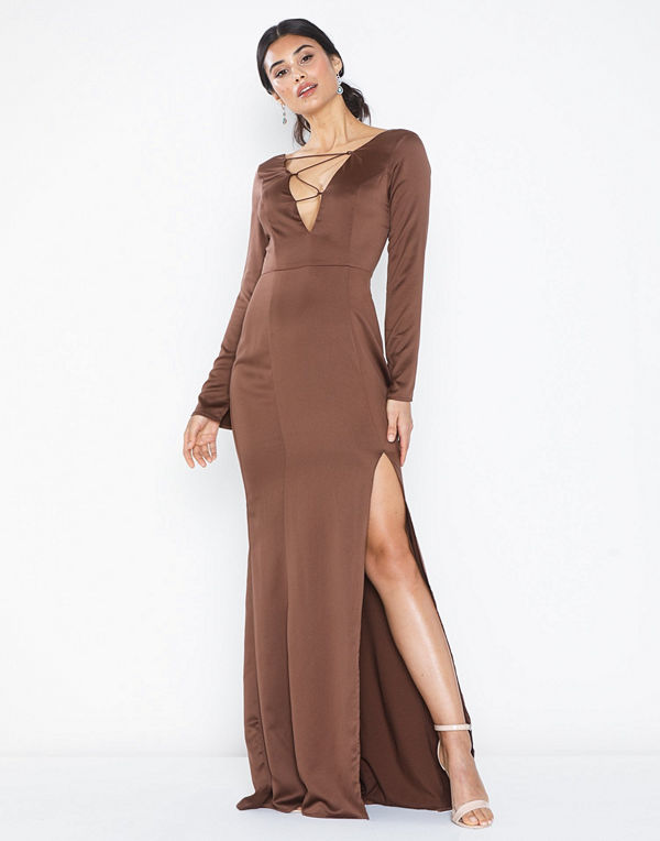 NLY Eve Lacing Front Gown