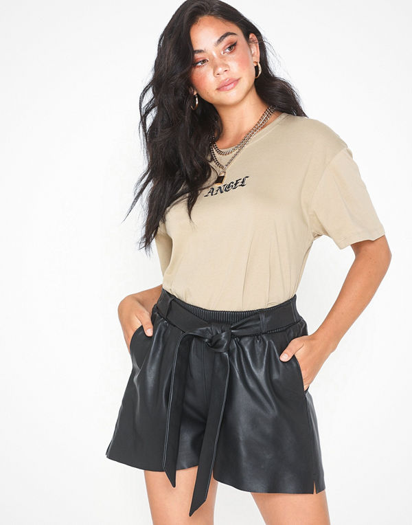 Y.a.s Yasnia Leather Shorts