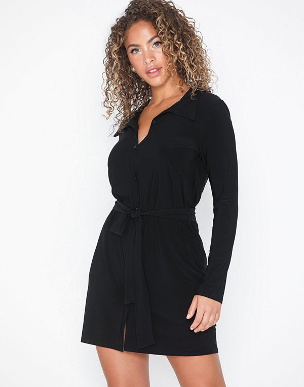 NLY Trend Tie Shirt Dress