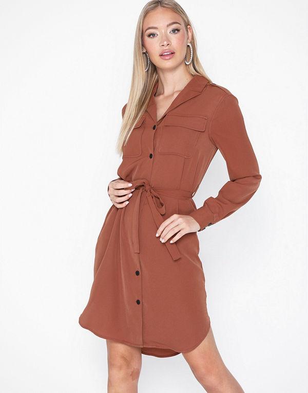 Vero Moda Vmselina L/S Short Shirt Dress Ki
