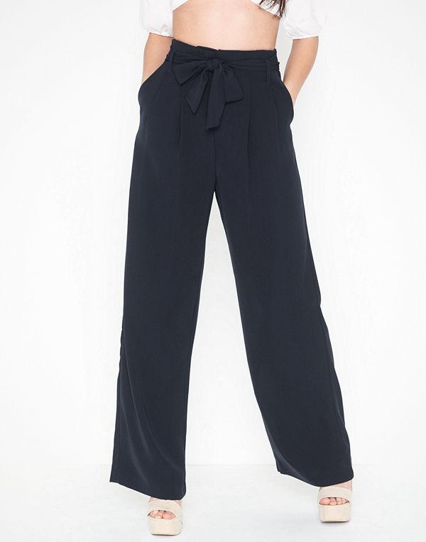 Selected Femme byxor Slfjessie Hw Wide Pant B
