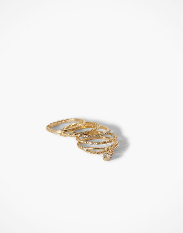 Missguided Jewelry Ring Multipack