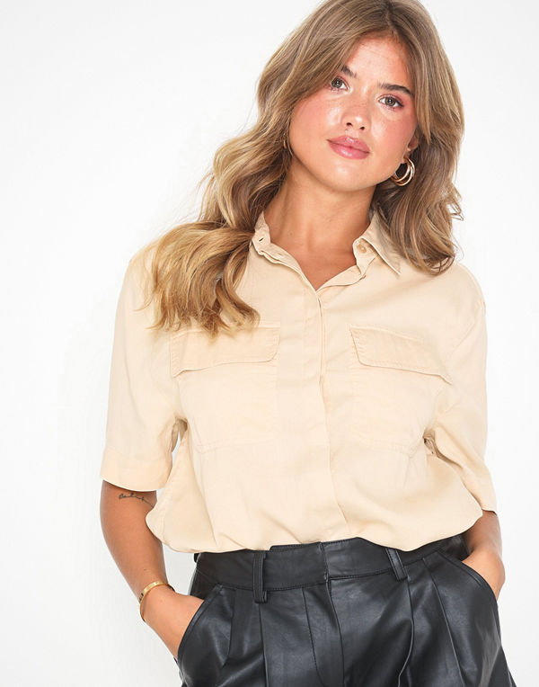 Topshop Short Sleeve Shirt