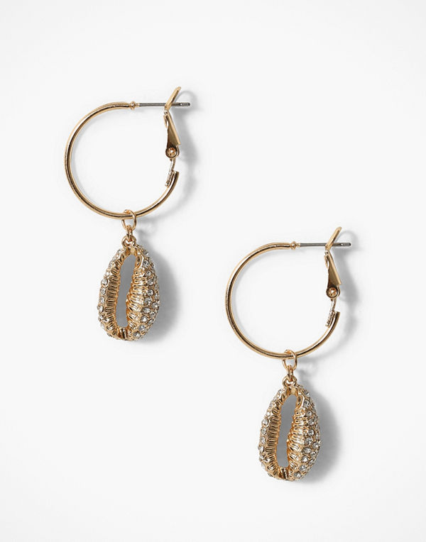 Freedom by Topshop örhängen Pave Conchi Shell Earring