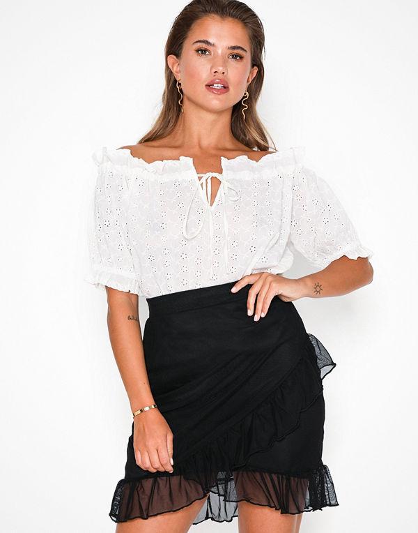 NLY Trend Frill Mesh Skirt