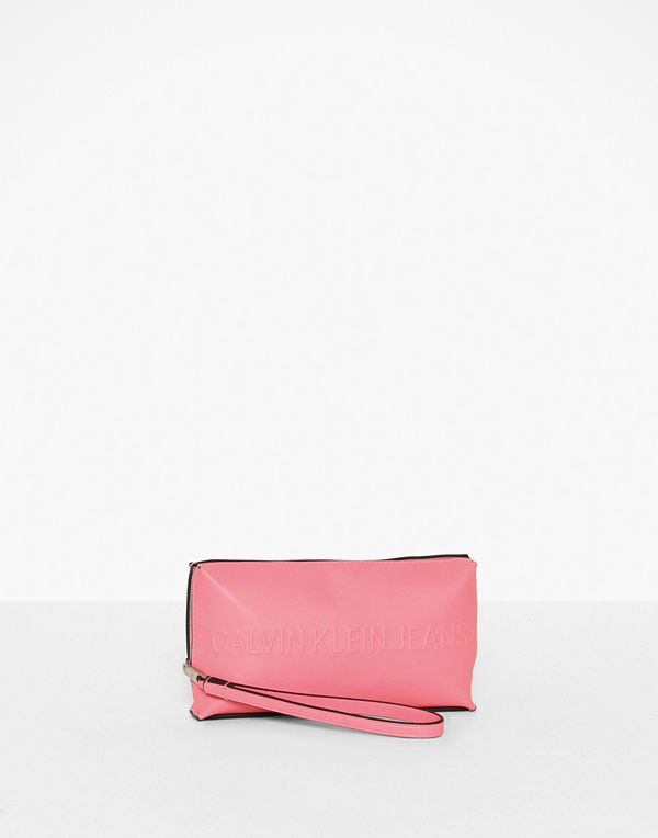 Calvin Klein Jeans gammelrosa kuvertväska Box Wristlet