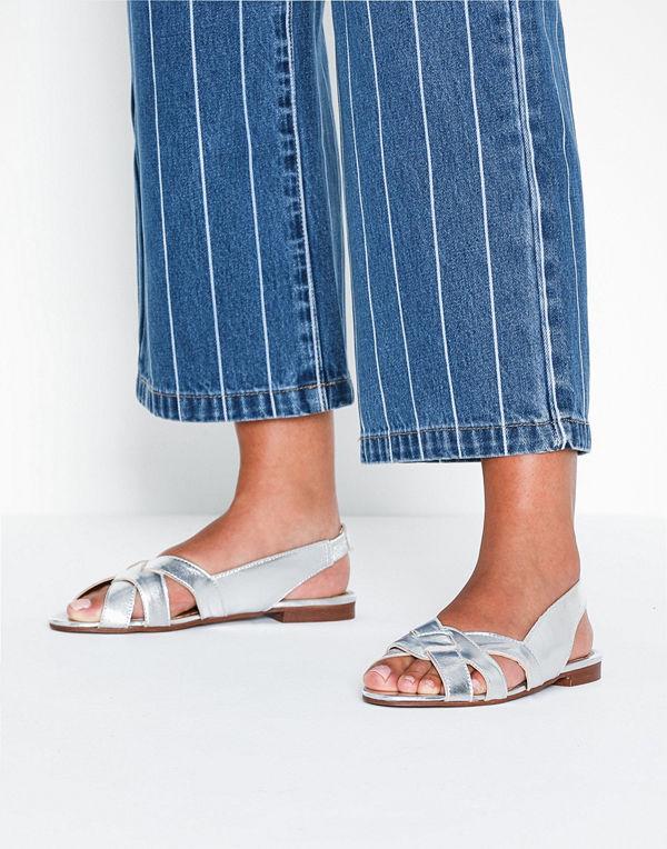 Topshop Peep Toe Sling Back Shoes