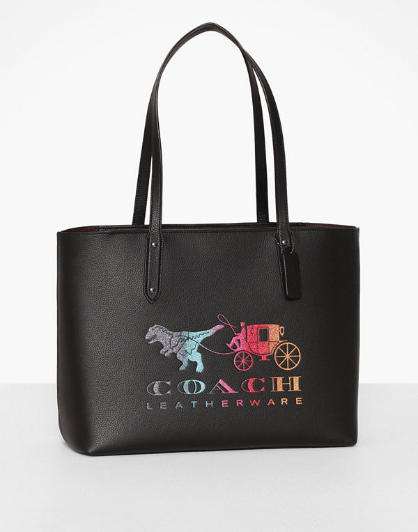 Coach Rexy And Carriage Central Tote With Zip