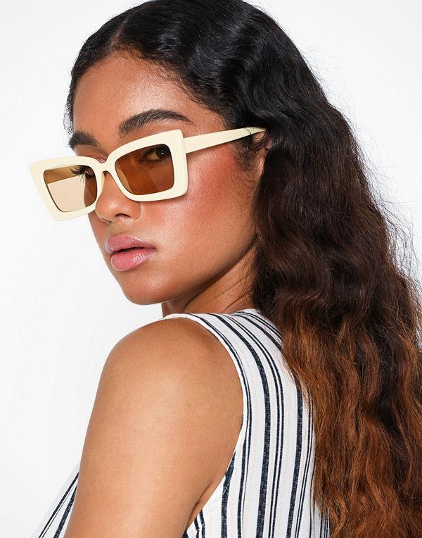 NLY Accessories Cream de la Crème Sunglasses