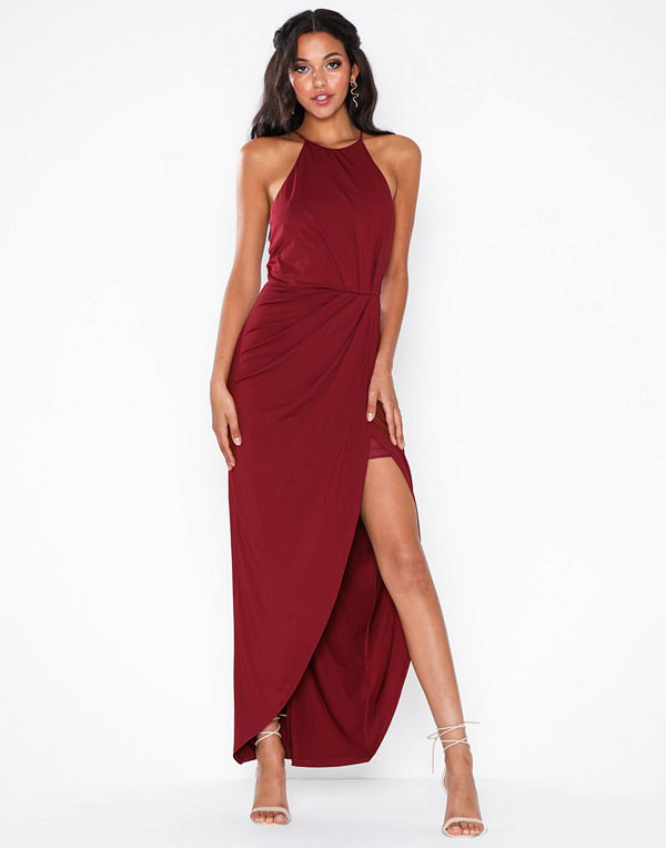 NLY Eve Twisted Sportscut Gown