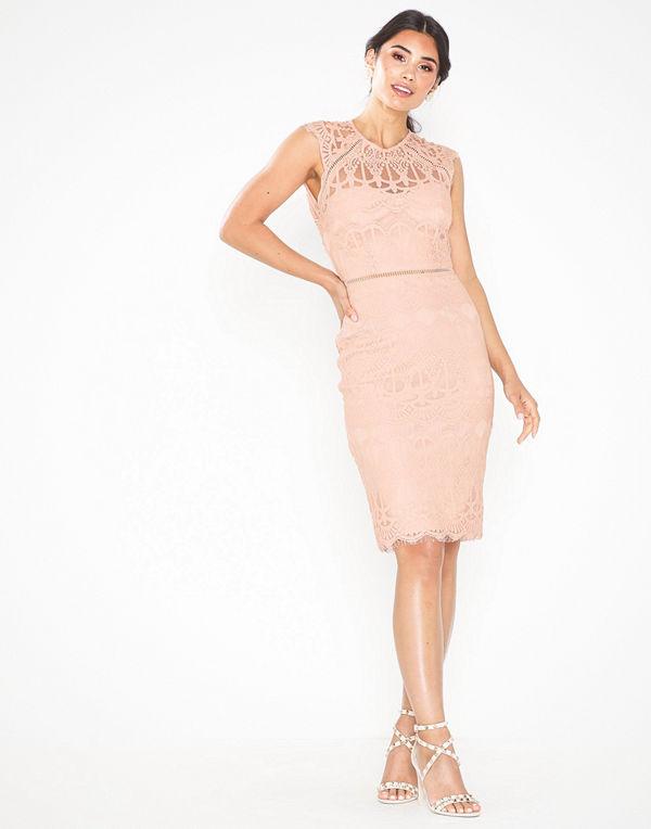 NLY Eve Cap Sleeve Midi Dress