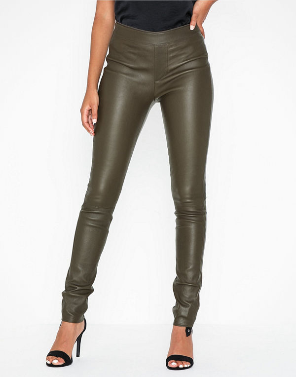 Helmut Lang Leather Legging.str1