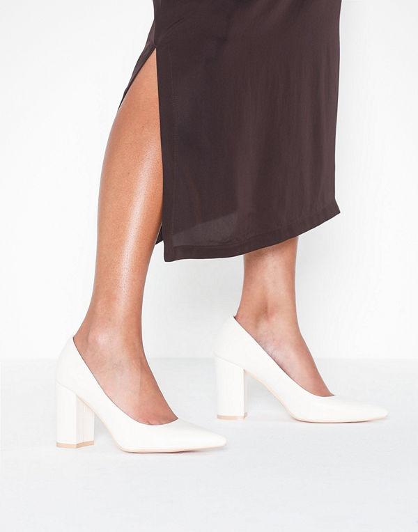 NLY Shoes Block Slim Pump