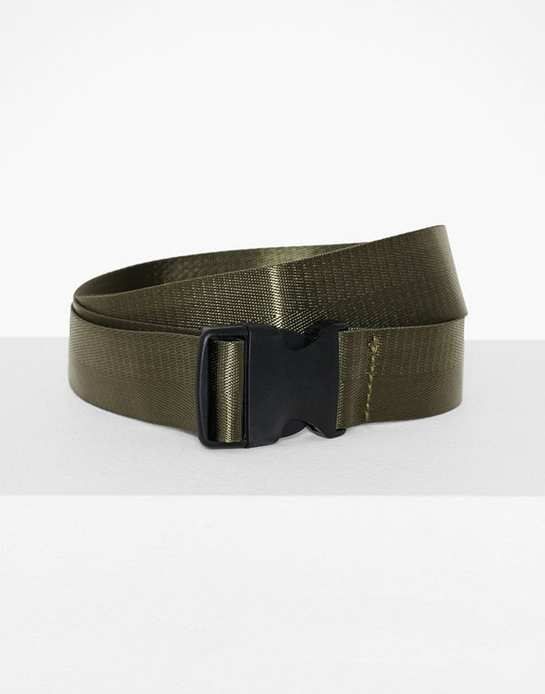 Missguided Canvas Buckle Belt