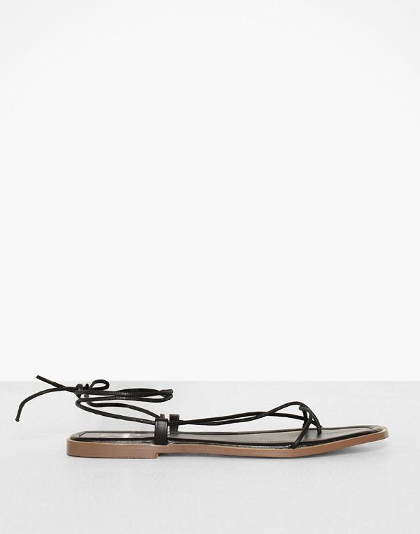 Missguided Minimal Skinny Strap Flat Sandal