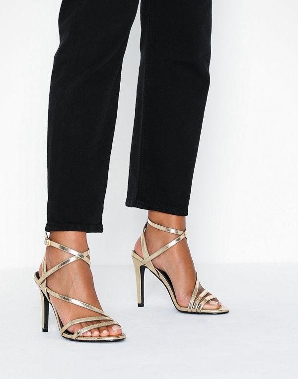 Only Onlaila Cross Pu Heeled Sandal
