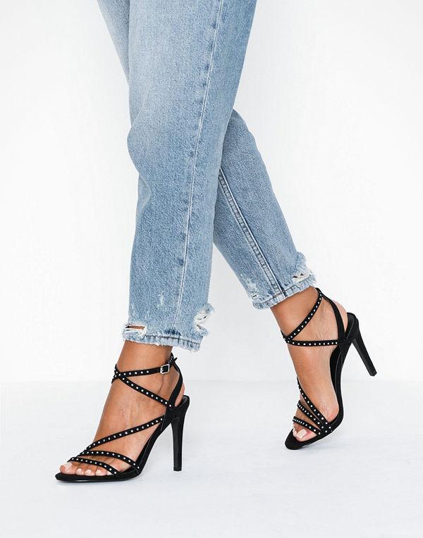 Only Onlaila Cross Stud Heeled Sandal