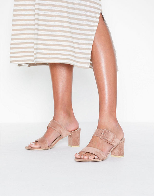 NLY Shoes Hold Me Tight Mule Heel