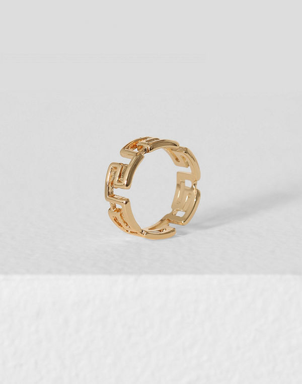 Missguided Jewelry ring Egyptian Square
