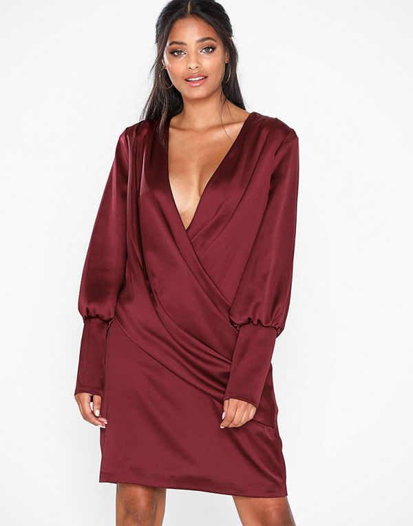 Forever Unique Long Sleeve Mini Dress