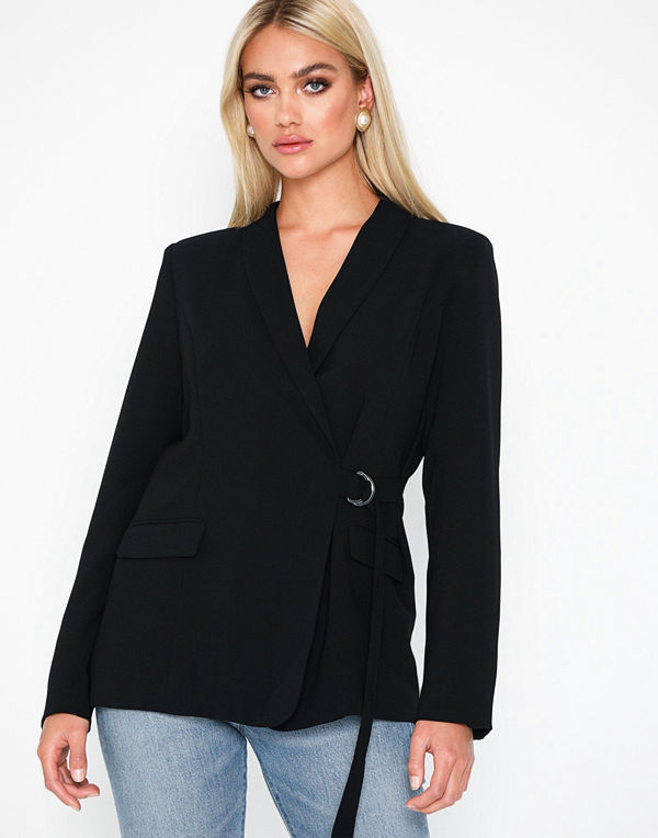 NLY Trend Wrap Belted Blazer