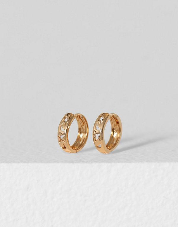 Missguided Jewelry örhängen Cut Out Hoop