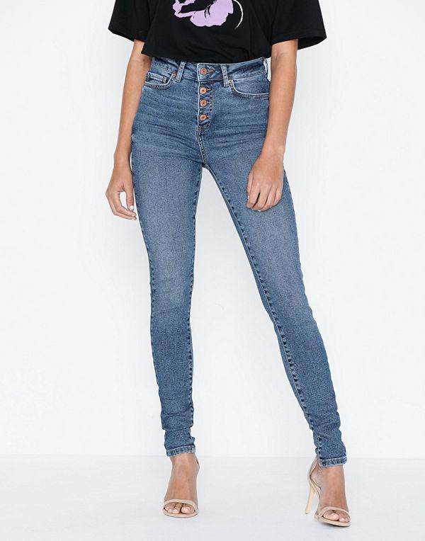Noisy May Nmcallie Hw Skinny Jeans BA063MB