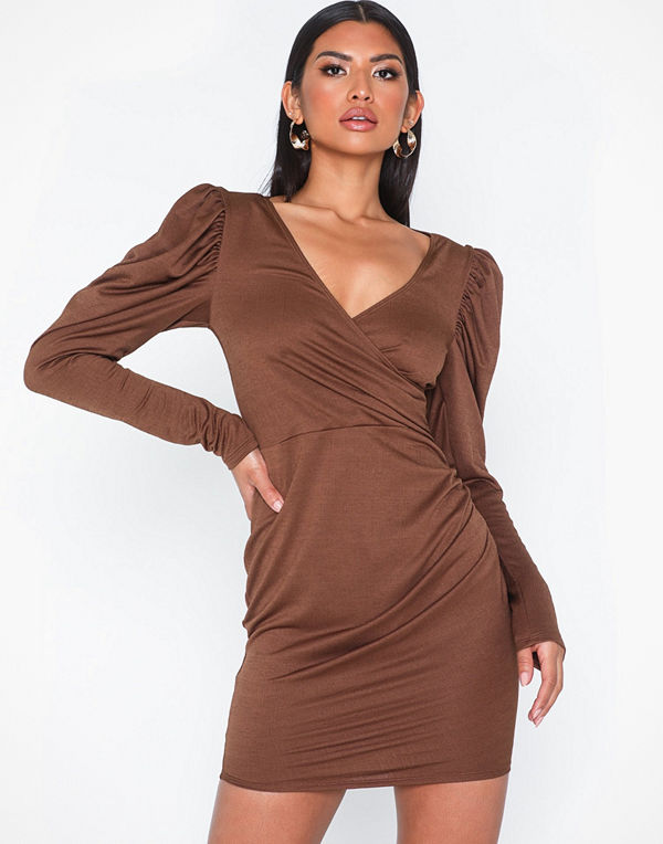 NLY One Structured Puff Dress