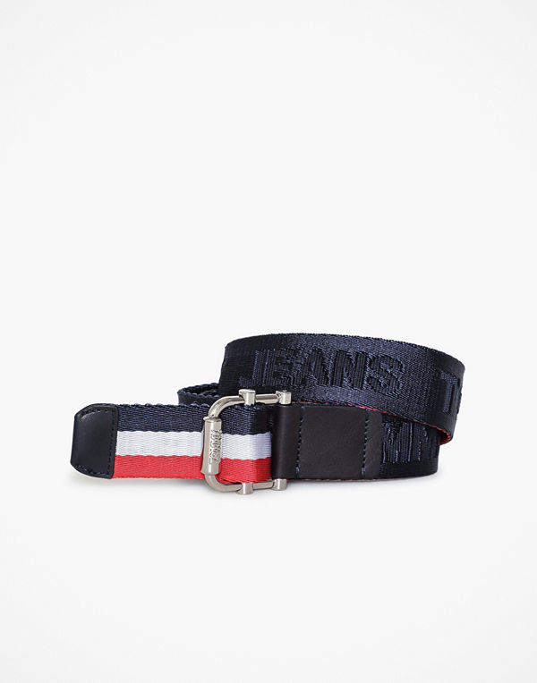 Tommy Hilfiger Tjw Rev Webbing Belt Blue