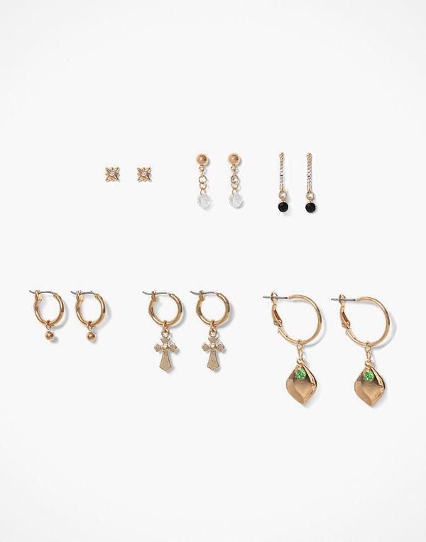 NLY Accessories örhängen Mini Fortune Hoops