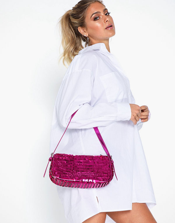 NLY Accessories Bring It Back Sequin Bag