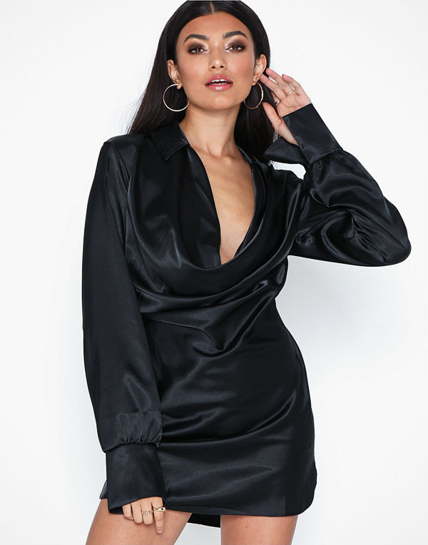 NLY One Satin Shirt Dress