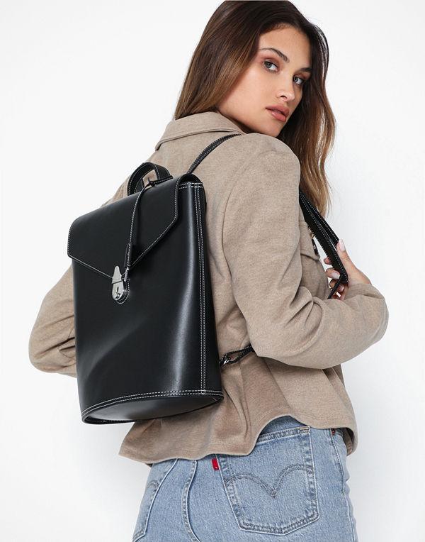 Calvin Klein svart ryggsäck Lock Backpack
