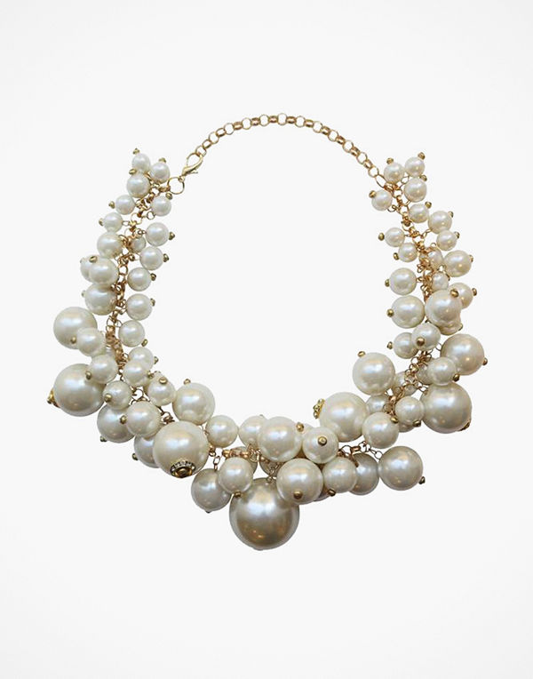 WOS halsband Big Pearl Necklace