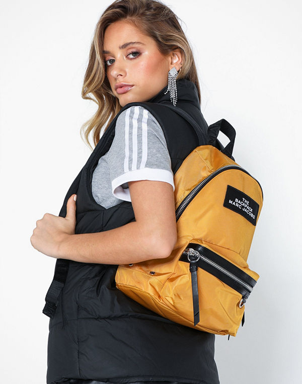 Marc Jacobs omönstrad ryggsäck The Backpack Medium