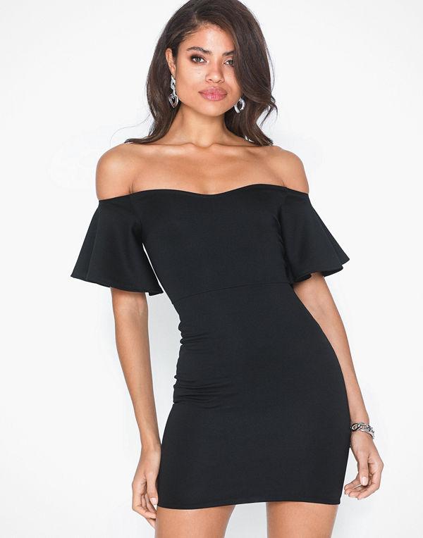 NLY One Flounce Sleeve Dress