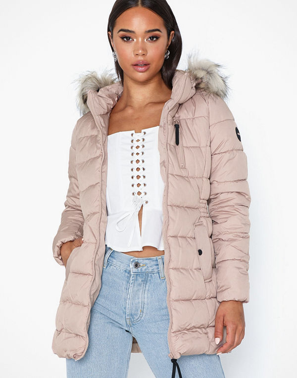 Only onlNORTH Nylon Coat Cc Otw