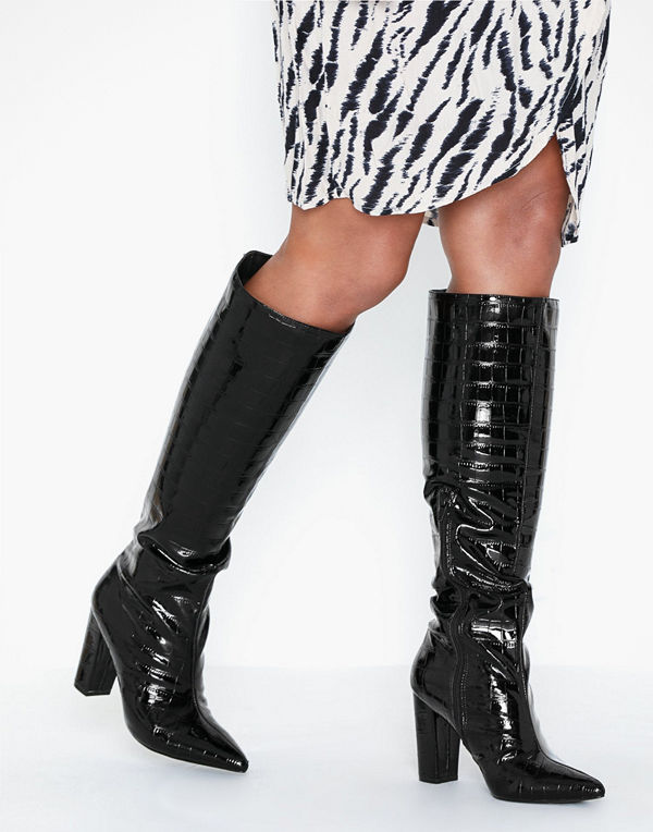 NLY Shoes Flirty Knee High Boot