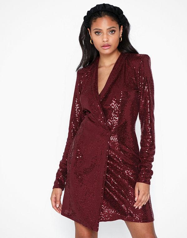 NLY One Sequin Blazer Dress
